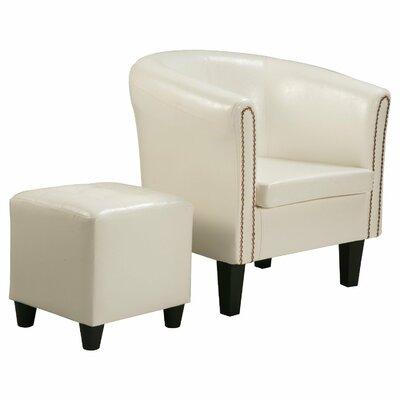 Kay Barrel Chair and Ottoman