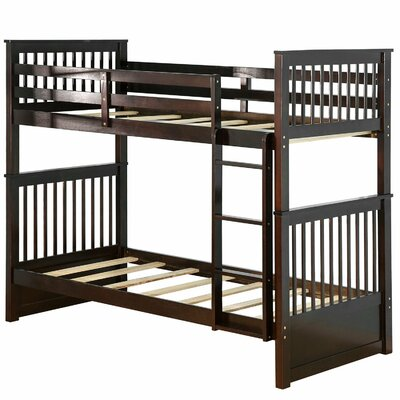 Earleville Twin Over Twin Bunk Bed