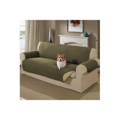 Reversible Sofa Slipcover Color: Sage