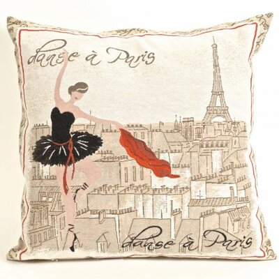 Paddington Tapestry Ballerina in Paris Pillow Cover