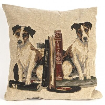 Bonilla Tapestry Fox Terrier Pillow Cover