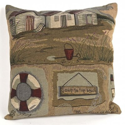 Albin Tapestry Gone to the Beach Pillow Cover