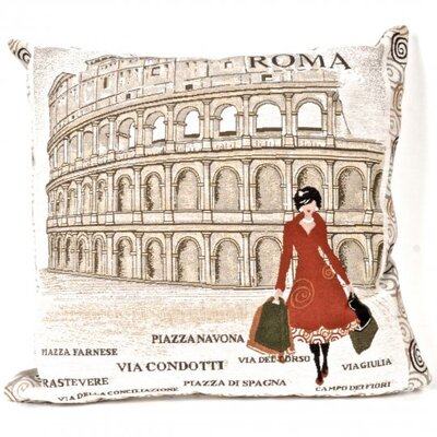 Paddington Tapestry Lady in Rome Pillow Cover