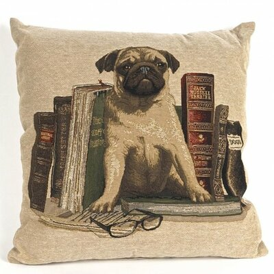 Bonilla Tapestry Pug Pillow Cover