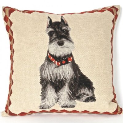 Bonilla Tapestry Schnauzer Pillow Cover