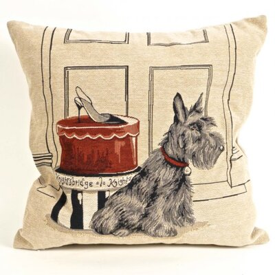Bonilla Tapestry Terrier Pillow Cover