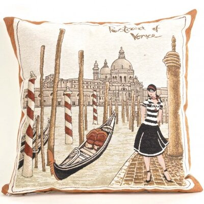 Bonilla Tapestry Venice Pillow Cover