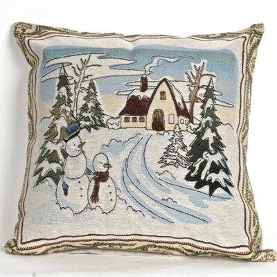 Bonilla Tapestry Winter Time Pillow Cover