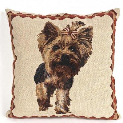 Bonilla Tapestry Yorkshire Terrier Pillow Cover