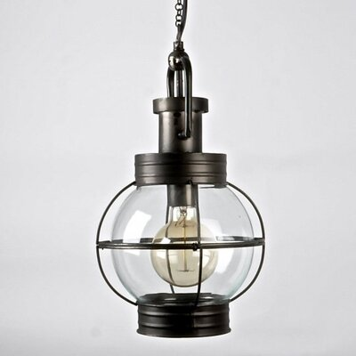 Jetta 1-Light Globe Pendant