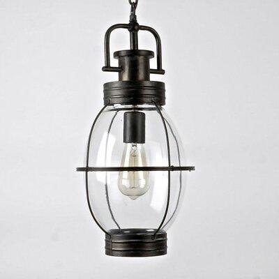 Jewell 1-Light Foyer/Lantern Pendant