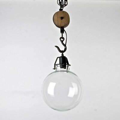 Nared 1-Light Globe Pendant