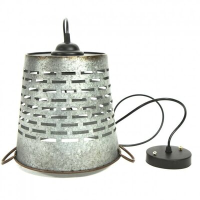 Shad 1-Light Mini Pendant Size: 10 H x 10.5 W x 10.5 D