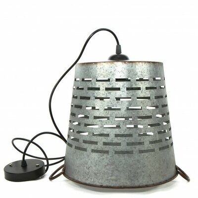 Shad 1-Light Mini Pendant Size: 11 H x 12.5 W x 12.5 D