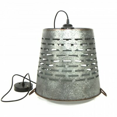 Shad 1-Light Mini Pendant Size: 9.5 H x 8.75 W x 8.75 D