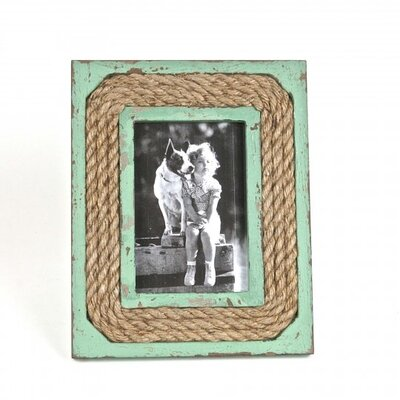 Philo Wood/Rope Picture Frame