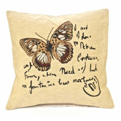 Parsley Butterfly Pillow Cover