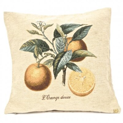 Partain Orange Pillow Cover