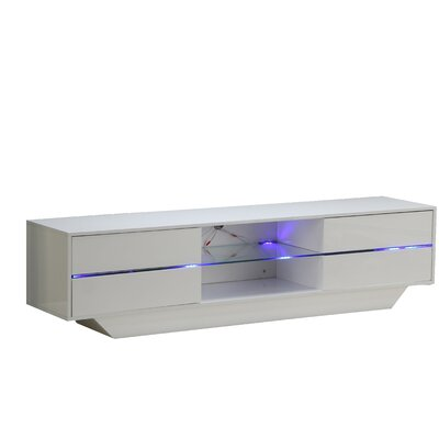 Kopf Modern 71 TV Stand with LED Light System