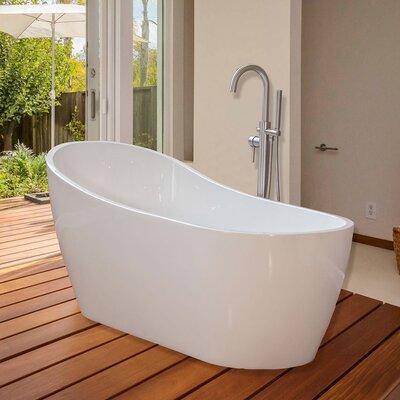 67 x 29 Freestanding Soaking Bathtub
