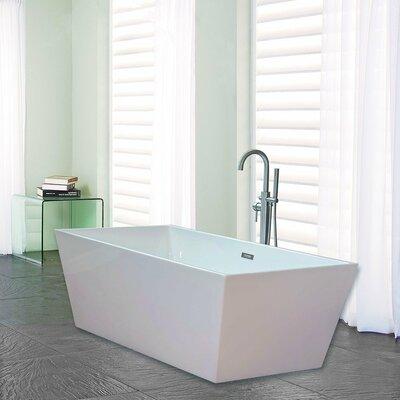 67 x 32 Freestanding Soaking Bathtub
