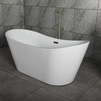 67 x 32 Freestanding Soaking Bathtub
