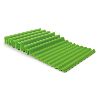 Wave Dish Rack Finish: Green