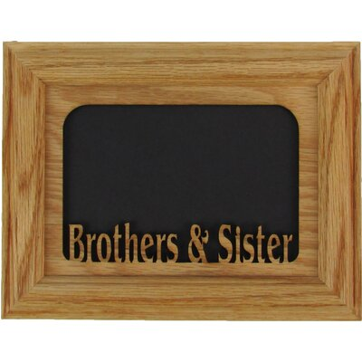 Brother and Sister Picture Frame 0507BROSISOO