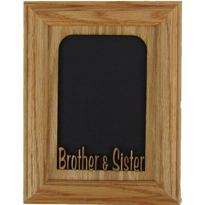 Brother and Sister Picture Frame 0507BROSISVOO