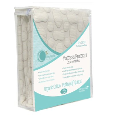 Pebble Puff 1 Cotton Mattress Pad Bed Size: Single