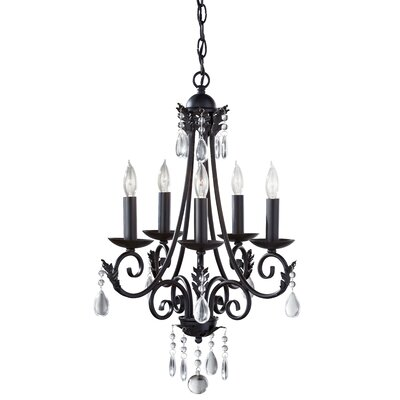 Nadia 5-Light Candle-Style Chandelier
