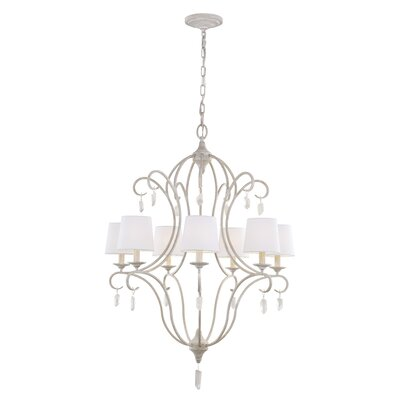Caprice 7-Light Shaded Chandelier