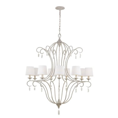 Caprice 9-Light Candle-Style Chandelier