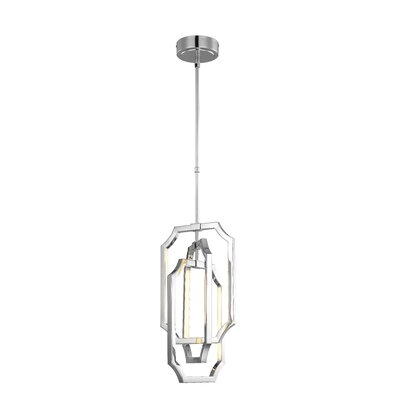 Audrie 6-Light LED Foyer Pendant Finish: Polished Nickel
