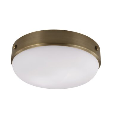 Cadence 2-Light Flush Mount Finish: Dark Antique