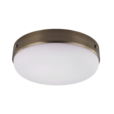 Cadence 3-Light Flush Mount Finish: Dark Antique