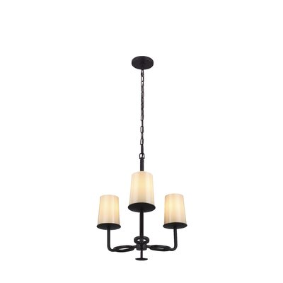 Huntley 3-Light Shaded Chandelier