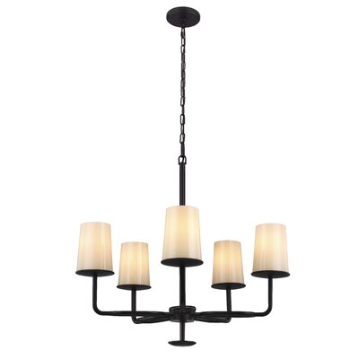 Huntley 5-Light Shaded Chandelier