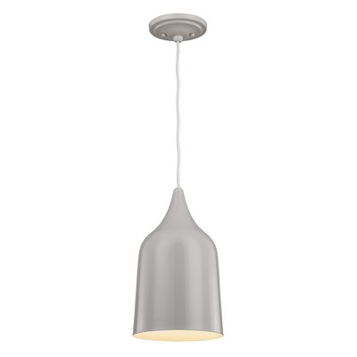 Dutch 1-Light Mini Pendant Finish: Silver Birch