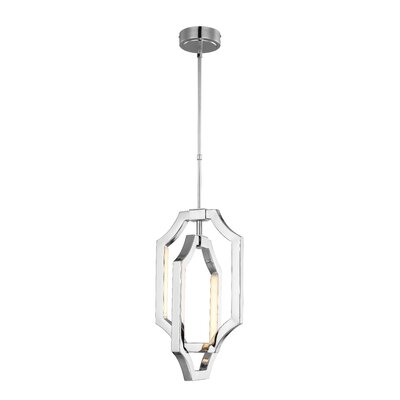 Audrie 4-Light LED Mini Pendant Finish: Polished Nickel