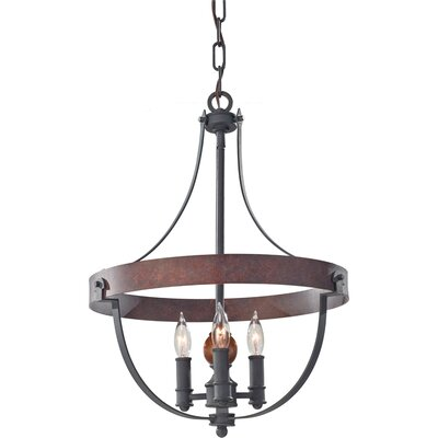 Alston 3-Light Foyer Pendant