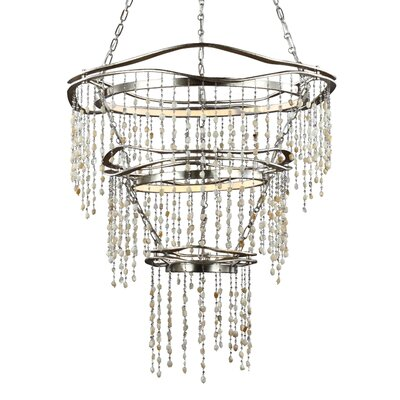 Stonesend 3-Light LED Crystal Chandelier