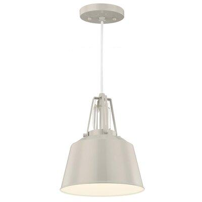 Freemont 1 Light Mini Pendant Bulb Type: Self Ballasted CFL GU24 13W, Finish: Hi Gloss Grey