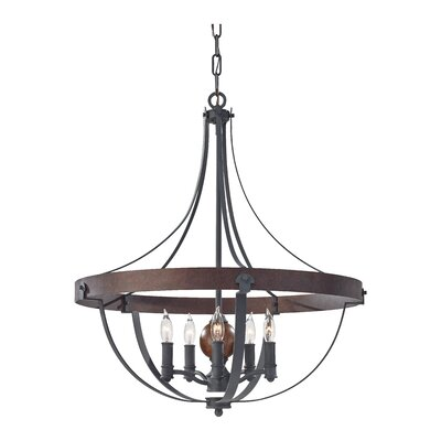 Alston 5-Light Foyer Pendant