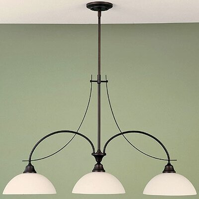 Boulevard 3-Light Kitchen Island Pendant