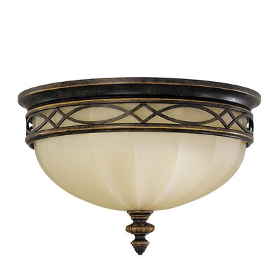 Edwardian 3-Light Flush Mount