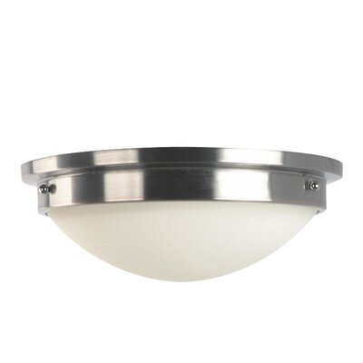 Avalon 2-Light Flush Mount Size / Finish: 4.25 / Oil Rubbed Bronze