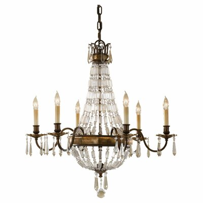 Bellini 6-Light Crystal Chandelier