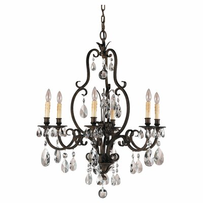 Salon Ma Maison 6-Light Candle-Style Chandelier