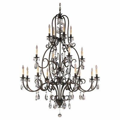 Salon Ma Maison 16-Light Crystal Chandelier